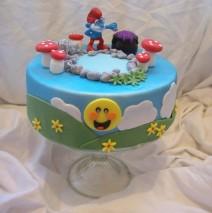Smurf Cake $250