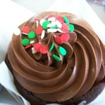 Xmas Cupcakes large $5.50 each