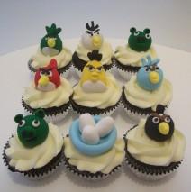 Angry Bird Cupcakes $8.50 each