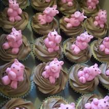 Peppa Cupcakes $8.50 each