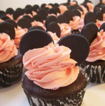 Minnie Mouse Cupcakes $5 each