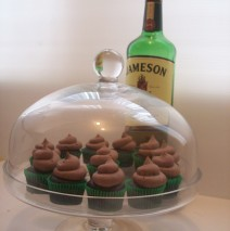 Mini Chocolate Whiskey Cupcakes $3