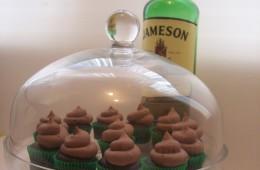 Mini Chocolate Whiskey Cupcakes $3