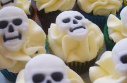 Skull Cupcakes (Mini) $3.50 each