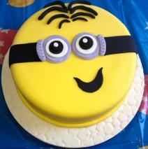 Minions 9 inch Cake $195