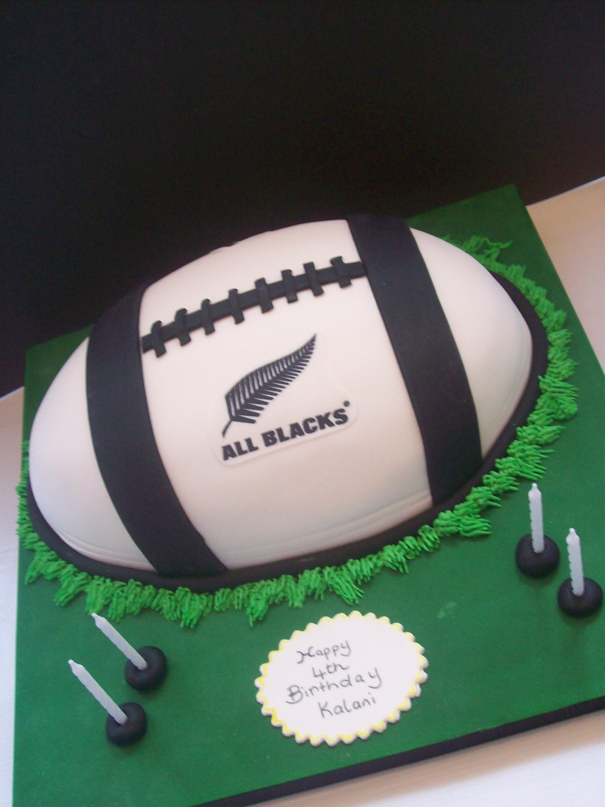 How To Make A Rugby Ball Cake