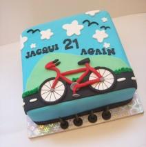 Bike Themed Cake $195
