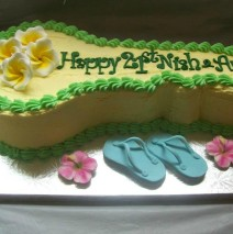 21st Key Cake $249