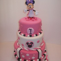 Minnie Mouse 3 Tier $550