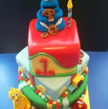 3 Tier sesame Street Cake $550