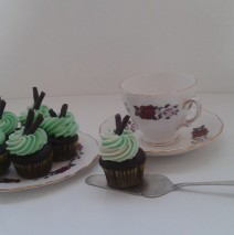 Mini Choco Mint Cupcakes $3 each
