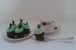 Mini Choco Mint Cupcakes $3 each