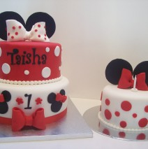Minnie Mouse Cake & Smash Cake $449