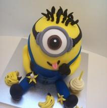 3D Minion Cake $295