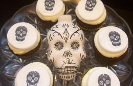 Sugar Skull Mini Cupcakes $3.50 each