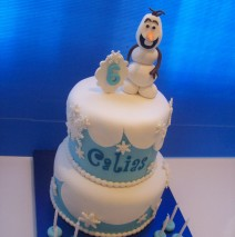 Frozen Cake with Olaf $295 (8 & 6 inch)