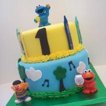Sesame Street Cake $325