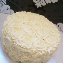 Rosette Cake 10 inch $130 (2 layer)