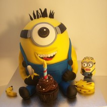 Minion Cake (Teeth) $295