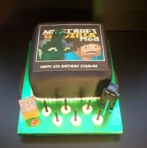 Minecraft Godzilla Cake $159