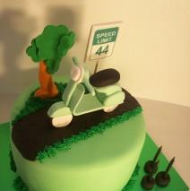 Vespa Cake $249