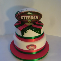 Rabbitohs Cake 80 coffee serves $395