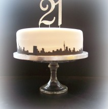 Auckland Skyline Cake $249