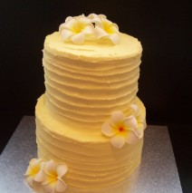 Silk Frangipani Cake $249 (50 pax)