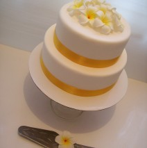 Frangipani Cake $395 (60 pax)