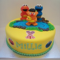 Sesame Street Cake $195