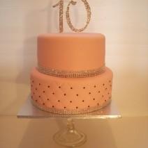 10th Anniversary Cake $395