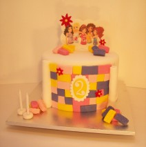 Lego Friends Cake $275