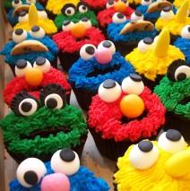 Sesame St Cupcakes $6 each
