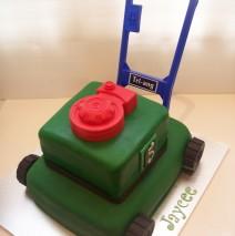 Large Lawn Mower Cake $349