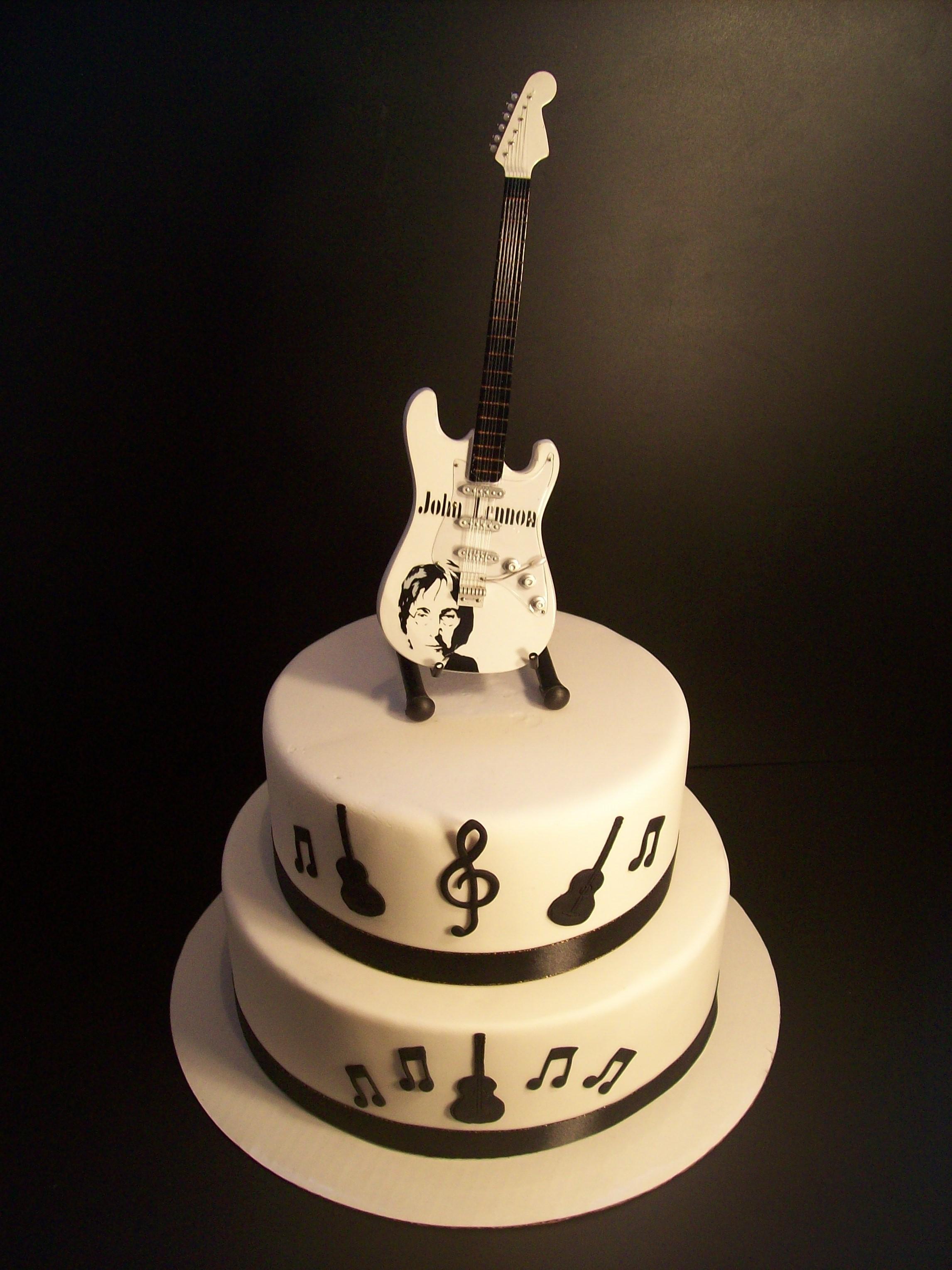 Guitar Cake 295 Temptation Cakes Temptation Cakes