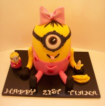 Girl Minion Cake $295