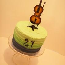 Violin Cake $130