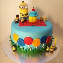 Balloons Minions Cake $249