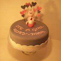 Baby Shower Cake $195