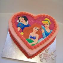 Disney Princess Cake image will vary $150
