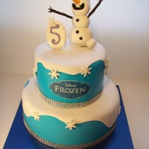 Olaf Cake $325 (9 and 6 inch)