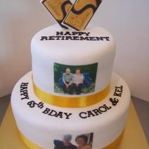 Retirement Cake $329