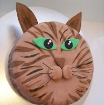 Cat Cake 8 inch $175