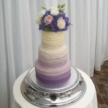 Ombre Wedding Cake $595
