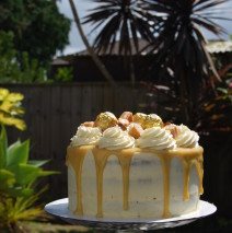 Salted Caramel Drizzle Cake $195