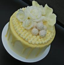 Raffaello Drizzle Cake $195