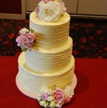 Buttercream Wedding cake $550