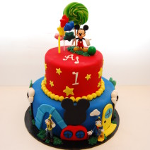 Mickey Clubhouse cake $395