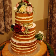 Naked Wedding Cake $595