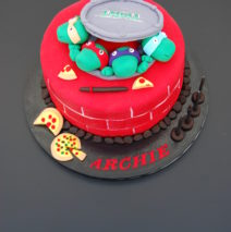 TMNT Cake $275